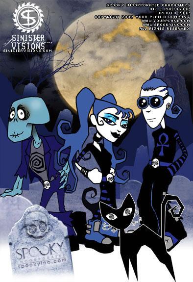 SpookyInc.com Characters