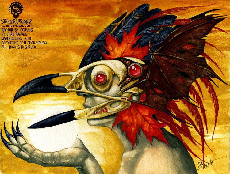 Raptor 5: Corvus
