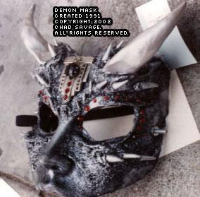 Demon Mask 01
