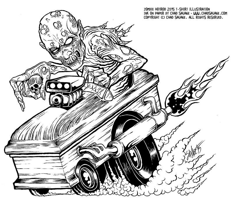 Zombie Hotrod