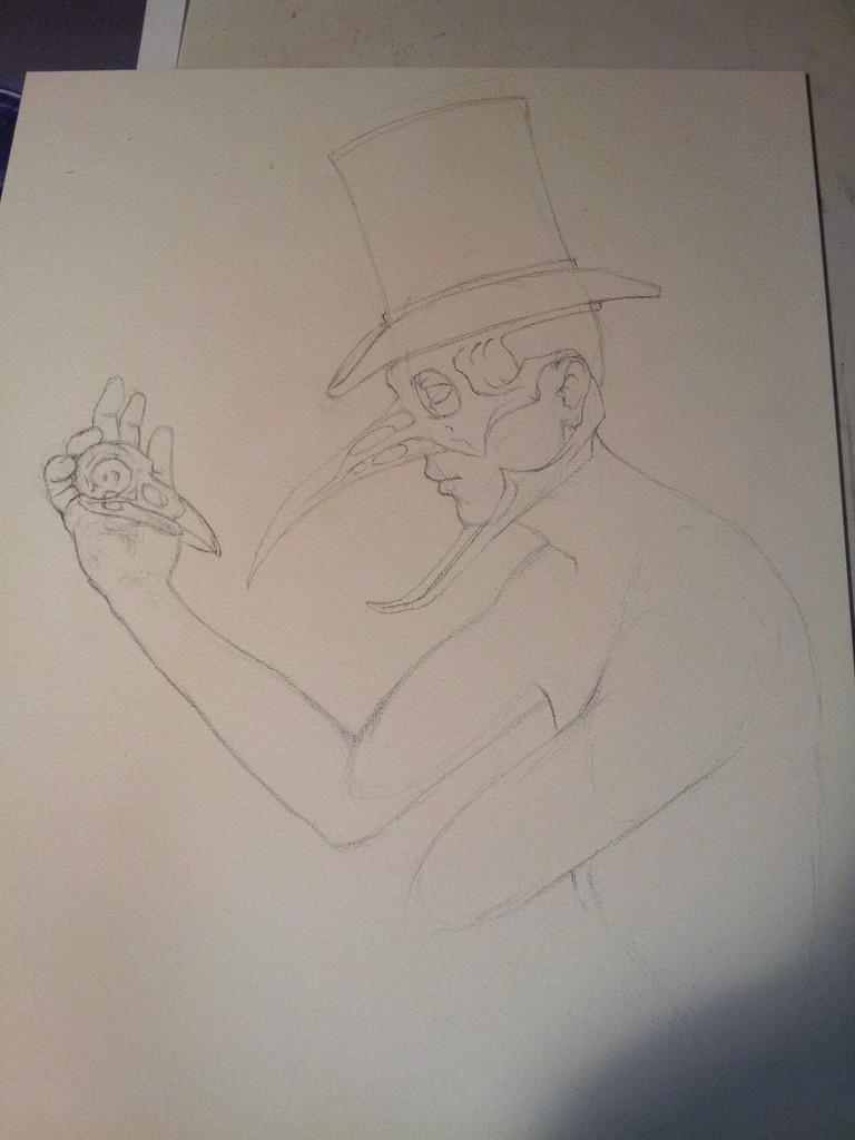 Sketch, 6/23/2012