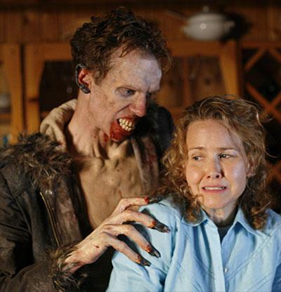 "Doug Jones as the Wendigo in the Skin & Bones episode of ""Fear Itself"""