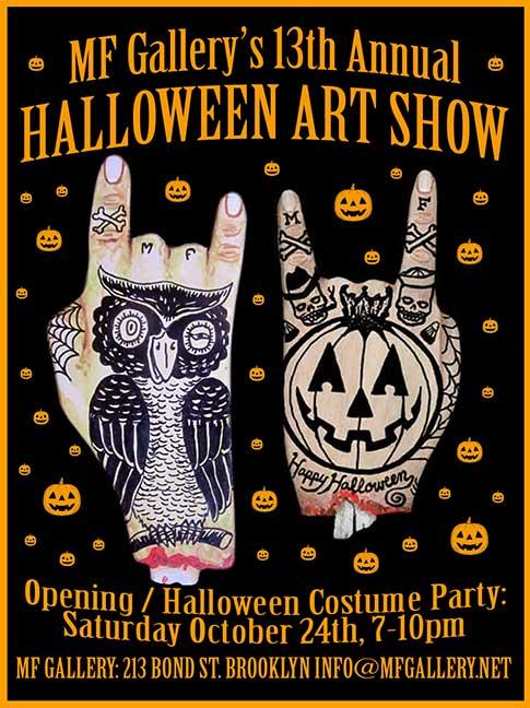 MF Gallery's 13th Annual Halloween Art Show