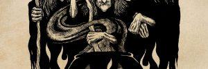 Drawlloween - Cauldron Crones by Chad Savage