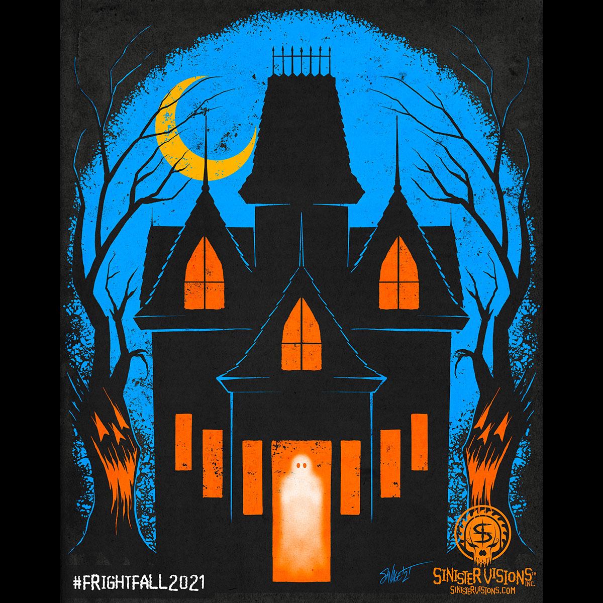 Fright-Fall Haunted House